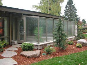 Glass Sunroom / Spa Enclosure