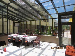 Commercial Sunroom for Restaurant