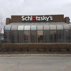 Schlotzsky's Deli, Anchorage - Exterior Before
