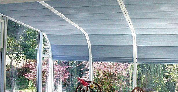 Curve Eave Sunroom Interior