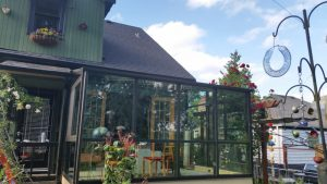 Straight Eave Sunroom Greenhouse