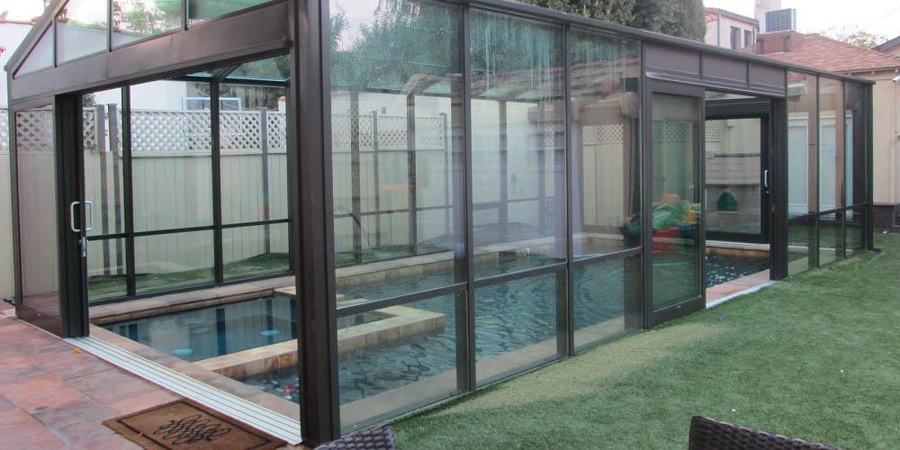 Swim Spa Enclosure